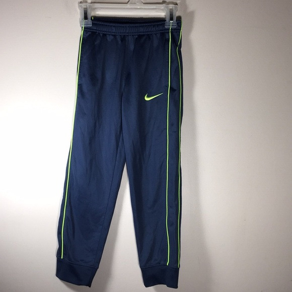 8bf35341c Nike Bottoms | Kids Track Pants Boys Girls Blue Yellow 6 | Poshmark